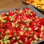 Philadelphian Plate -tuorejuusto-taco-salsa-kasvis-nacho-hässäkkä
