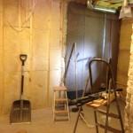 Kylpyhuoneen uudelleenrakentamista