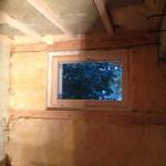Saunan ikkunan vaihto