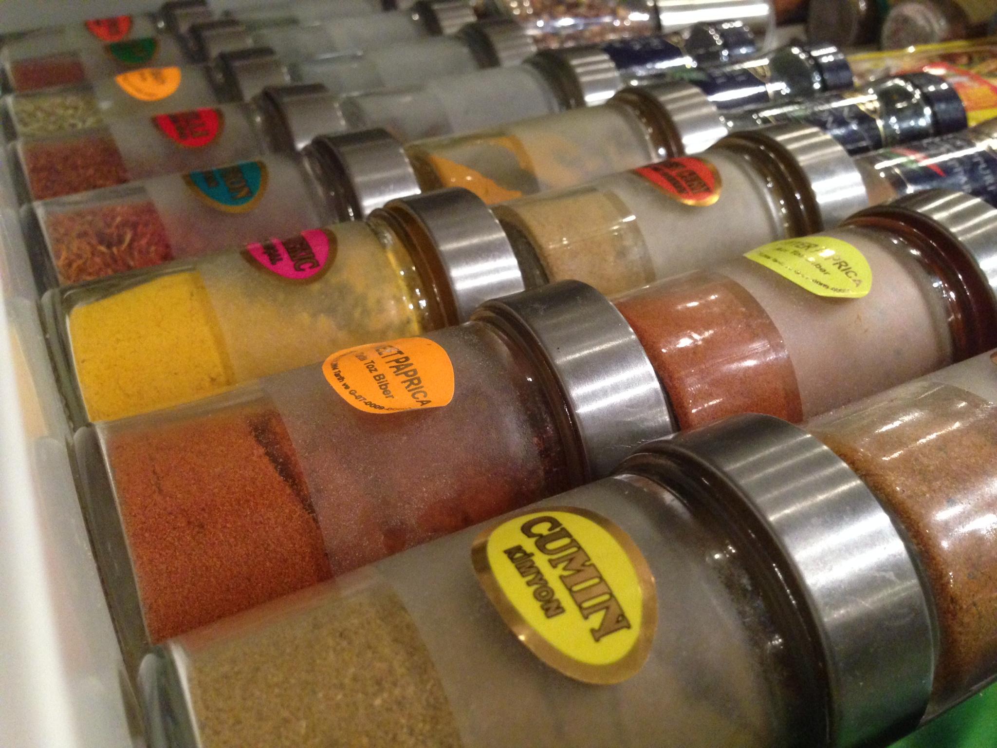 Turkkilaiset mausteet  KodinHenke