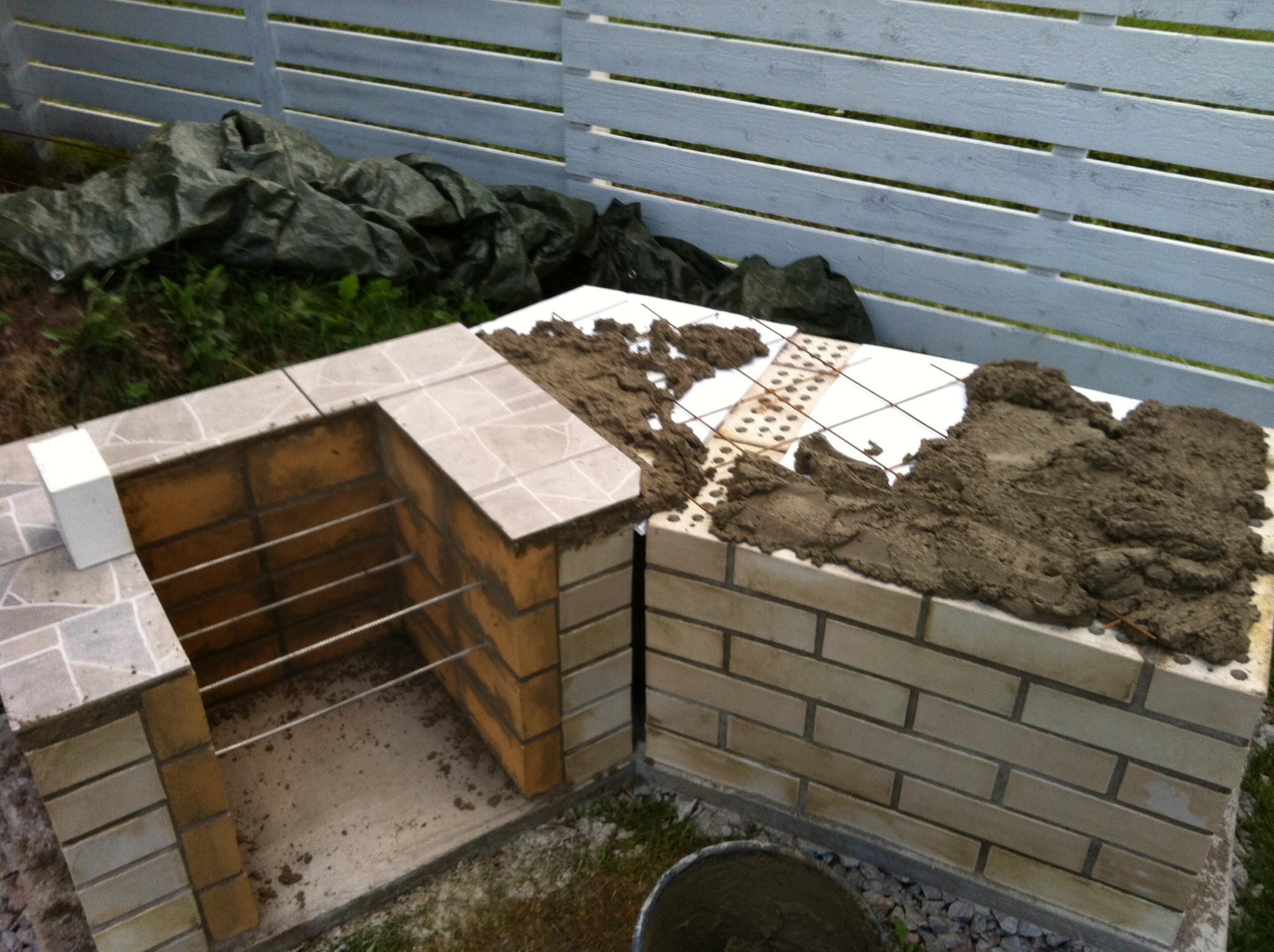 Tiilet grilliin – Rakentaminen talonsa